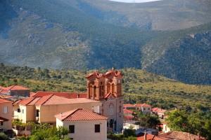 église de Chrisso en Grèce