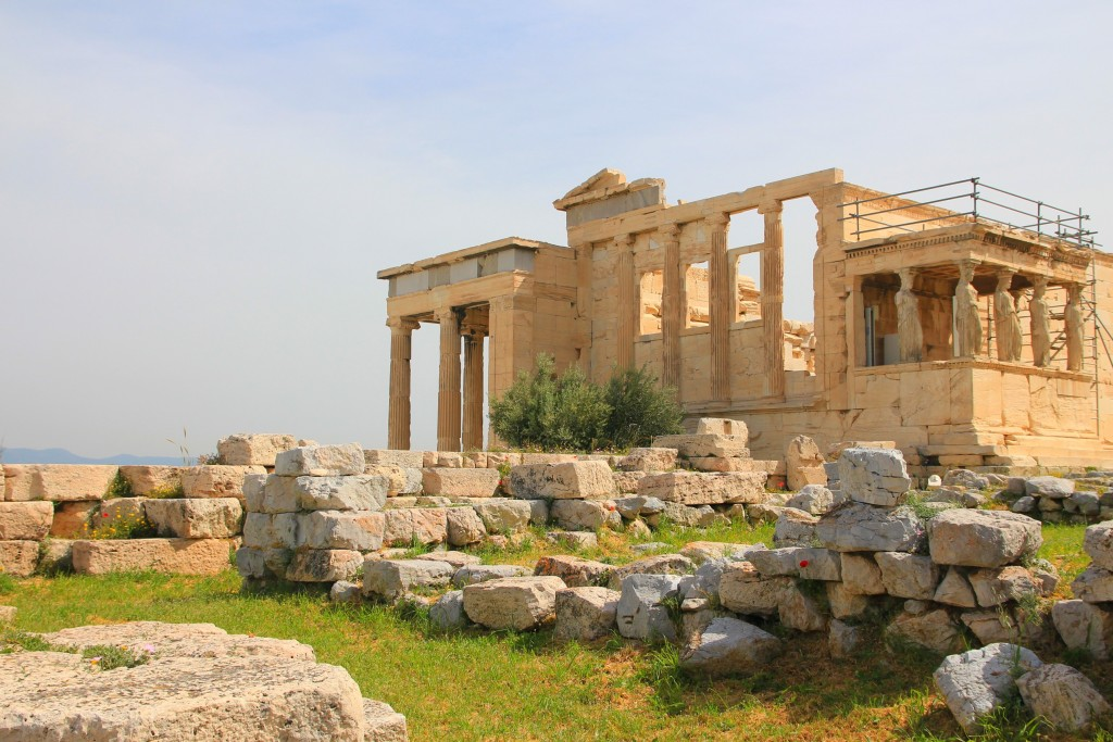 Erechtéion à Athènes