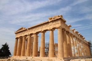Le Parthénon à Athènes en Grèce