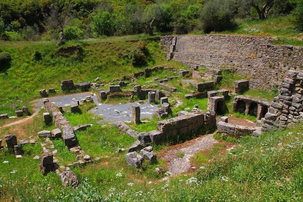 Asklepeion (centre médical) de la Gortys antique