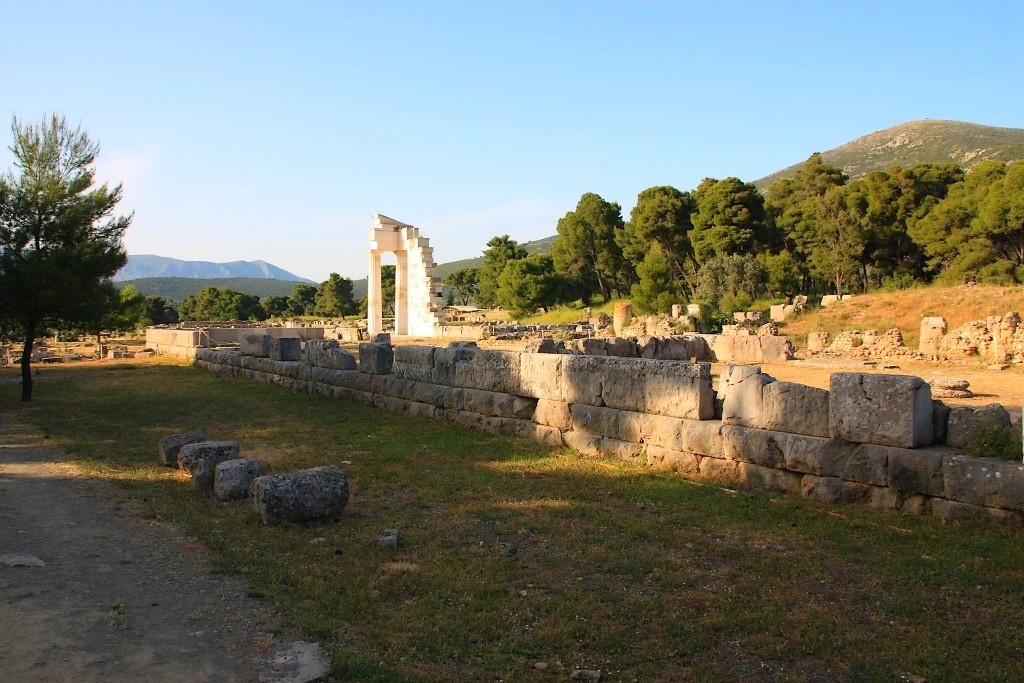 Temple d'Asclépios à Épidaure
