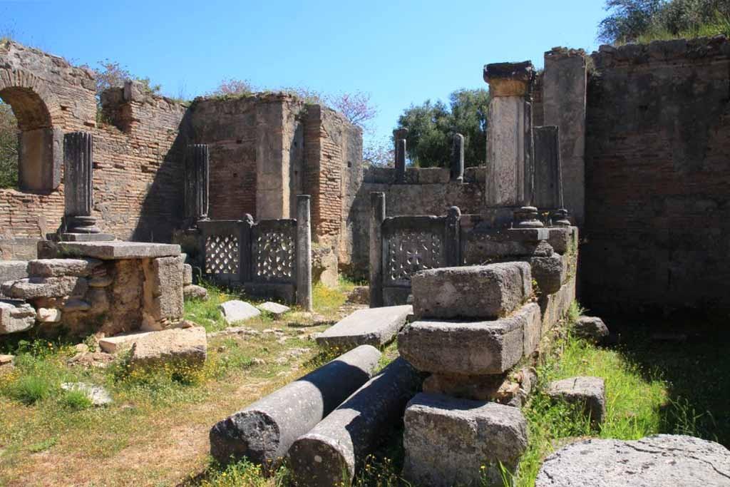 Atelier de Phidias à Olympie en Grèce