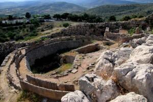 Cercle royal à Mycènes