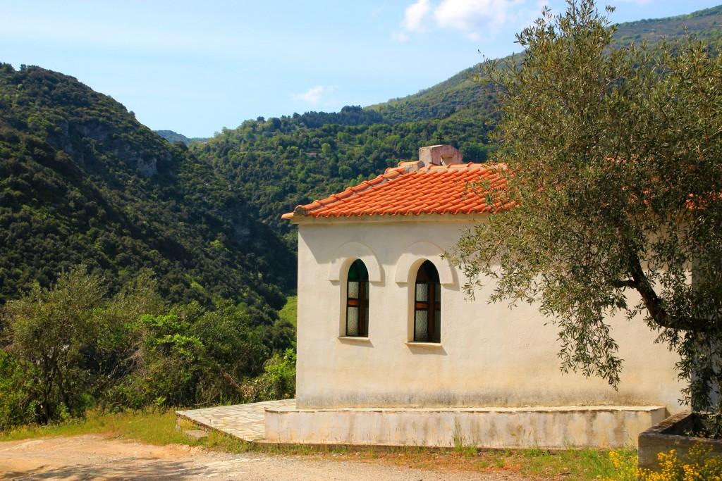 Chapelle du Pélion en Grèce