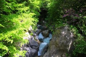chutes d'eau gorges du loussios