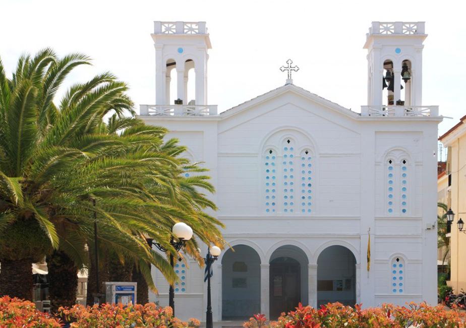 église de Nauplie en Grèce