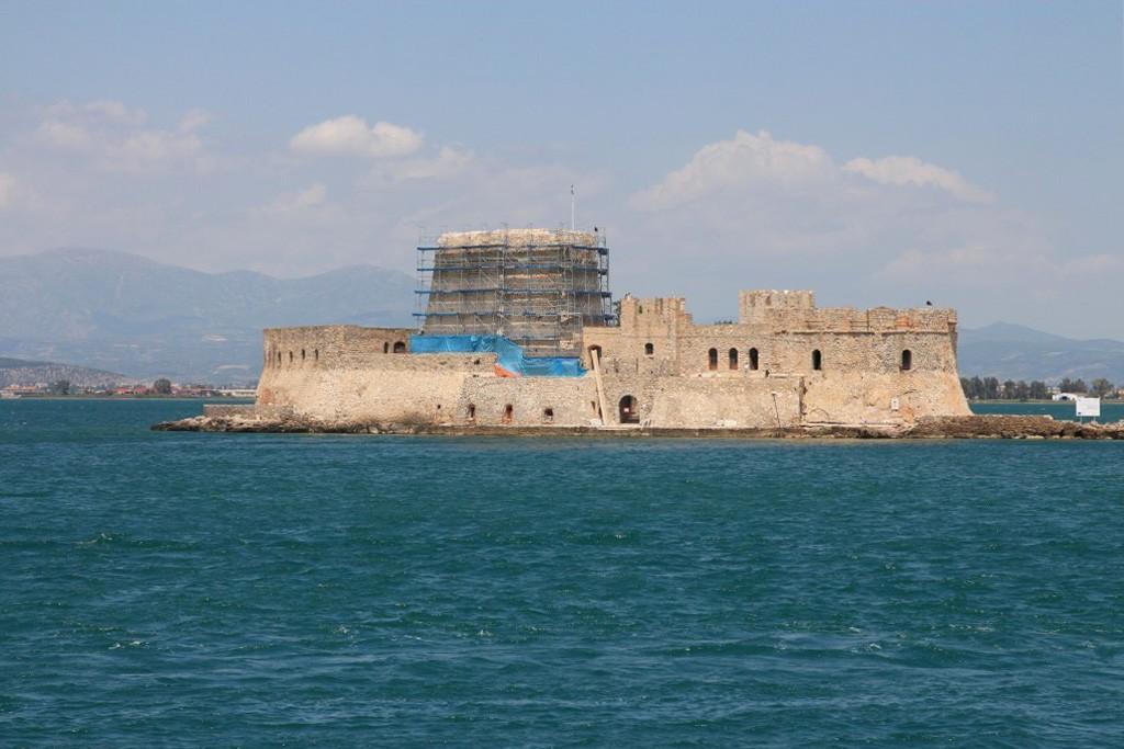 Fort vénitien à l'entrée du port de Nauplie