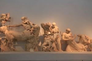 Autre fresque du Temple de Zeus à Olympie