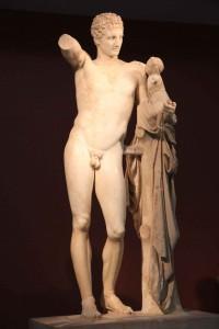 Hermès de Praxitèle à Olympie