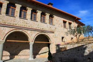 Intérieur d'un monastère des Météores