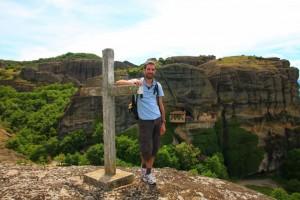 Monastère d'Ipapandis Météores Grèce