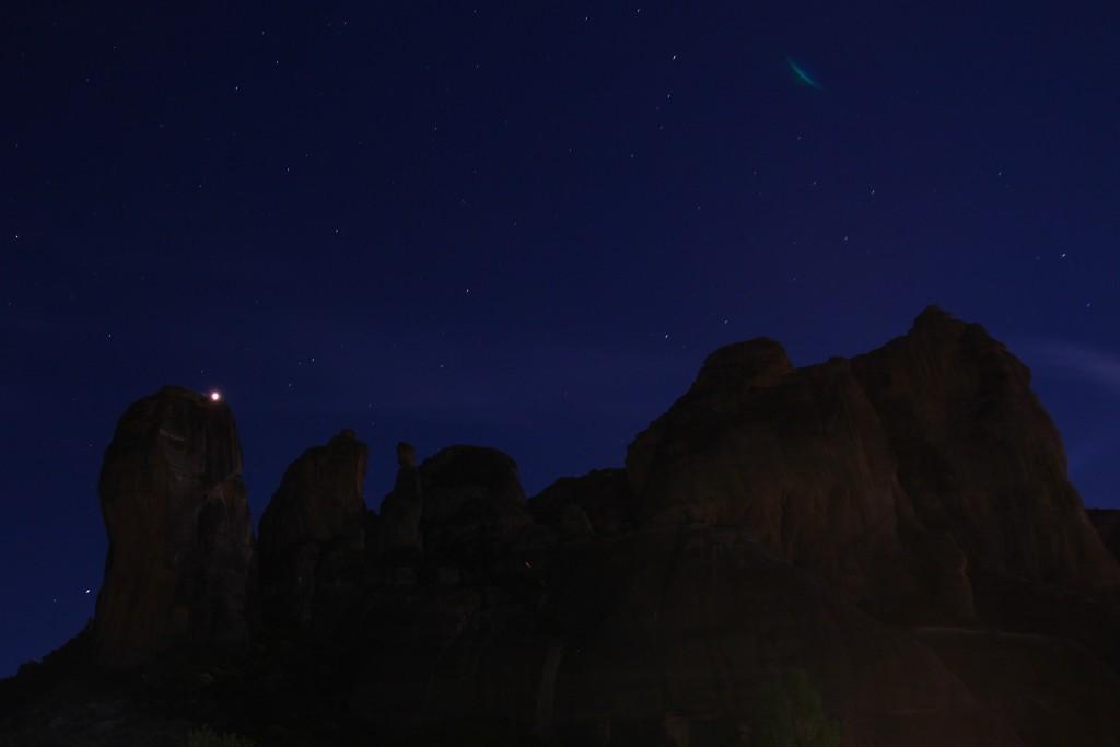 Les meteores de nuit