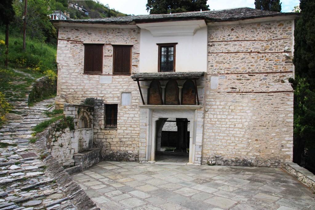 Ancien monastère de Makrinista dans le Pélion