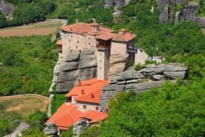 Monastère des Météores en Grèce