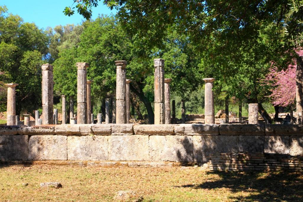 Site d'Olympie en Grèce