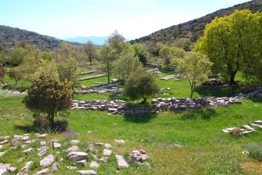 Restauration du Temple d'Apollon en Grèce
