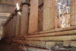 Temple d'Apollon en Grèce