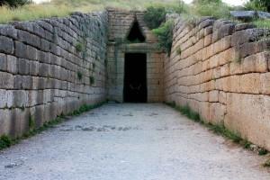 Trésor d'Atrée ou tombeau d'Agamemnon à Mycènes