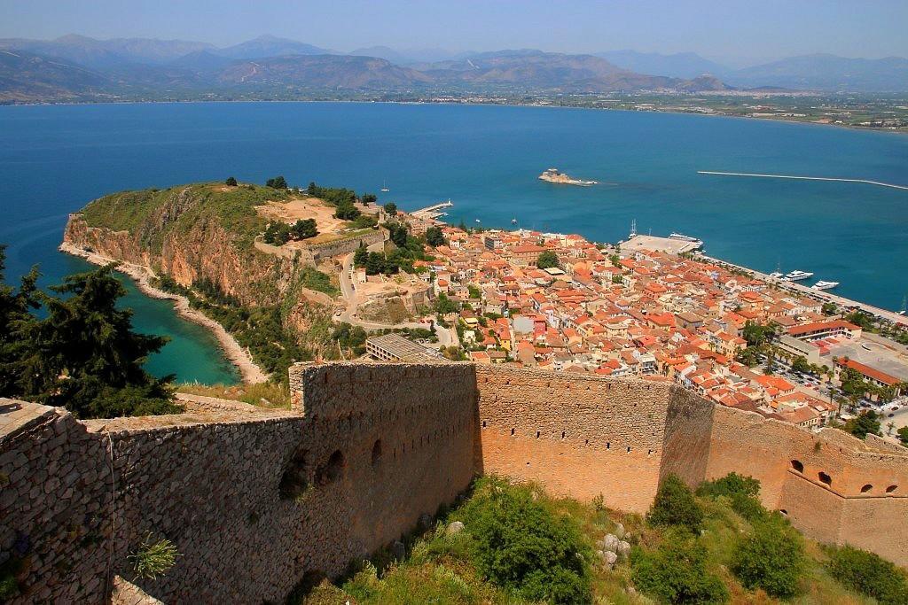Vue sur Nauplie en Grèce