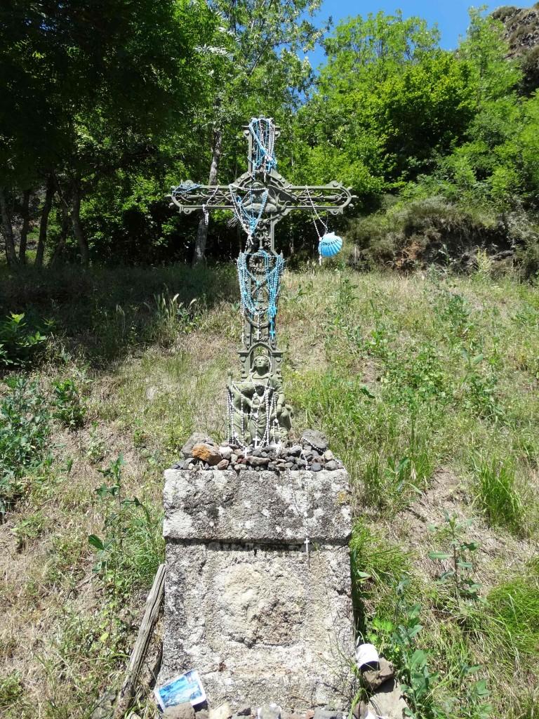 Croix sur le Chemin de Compostelle