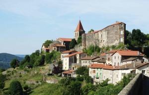 Saint-Privat-d'Allier sur le Chemin de Compostelle