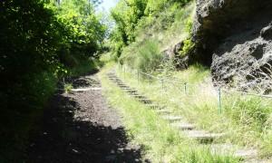 De Saint-Privat-d'Allier à Saugues sur le Chemin de Compostelle