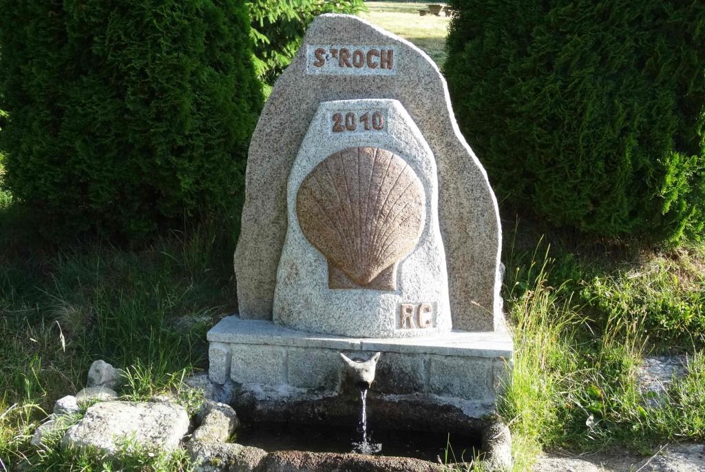 Source Saint-Roch sur le Chemin de Compostelle