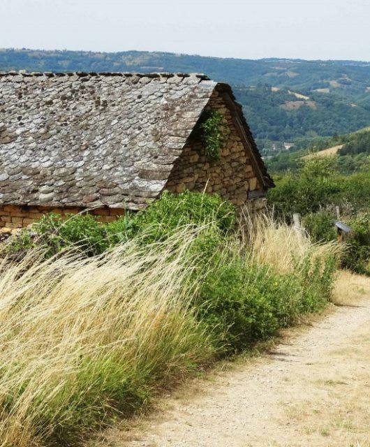 Compostelle : Saint-chély d'aubrac / Espalion