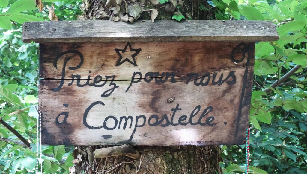 Compostelle : sac à dos, priez pour nous