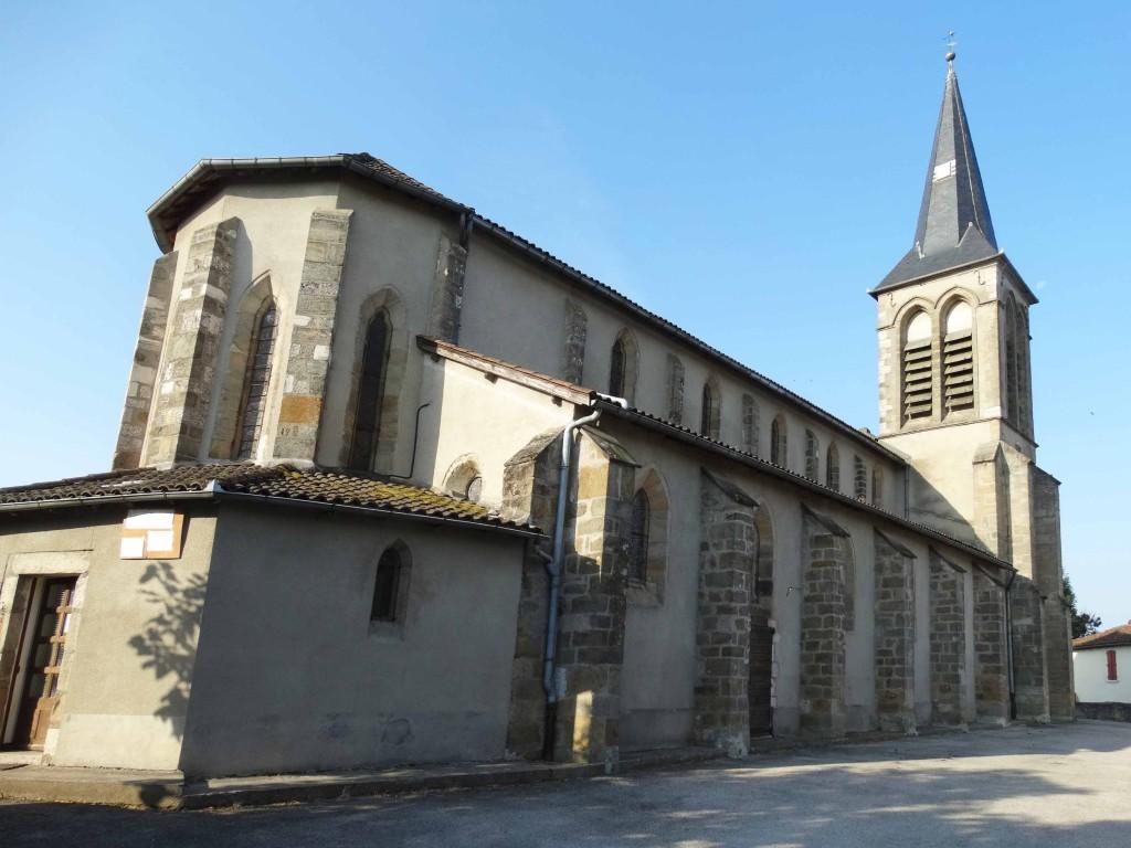 Eglise de Montredon sur le Chemin de Compostelle