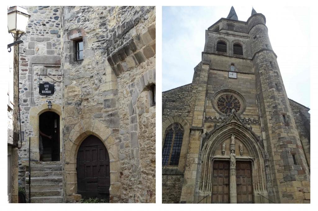 Saint-Côme d'Olt sur le Chemin de Compostelle