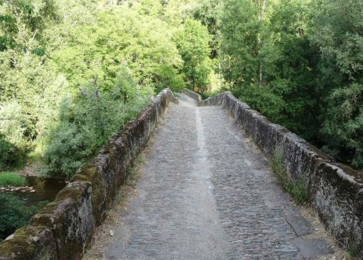 Pont romain à Conques