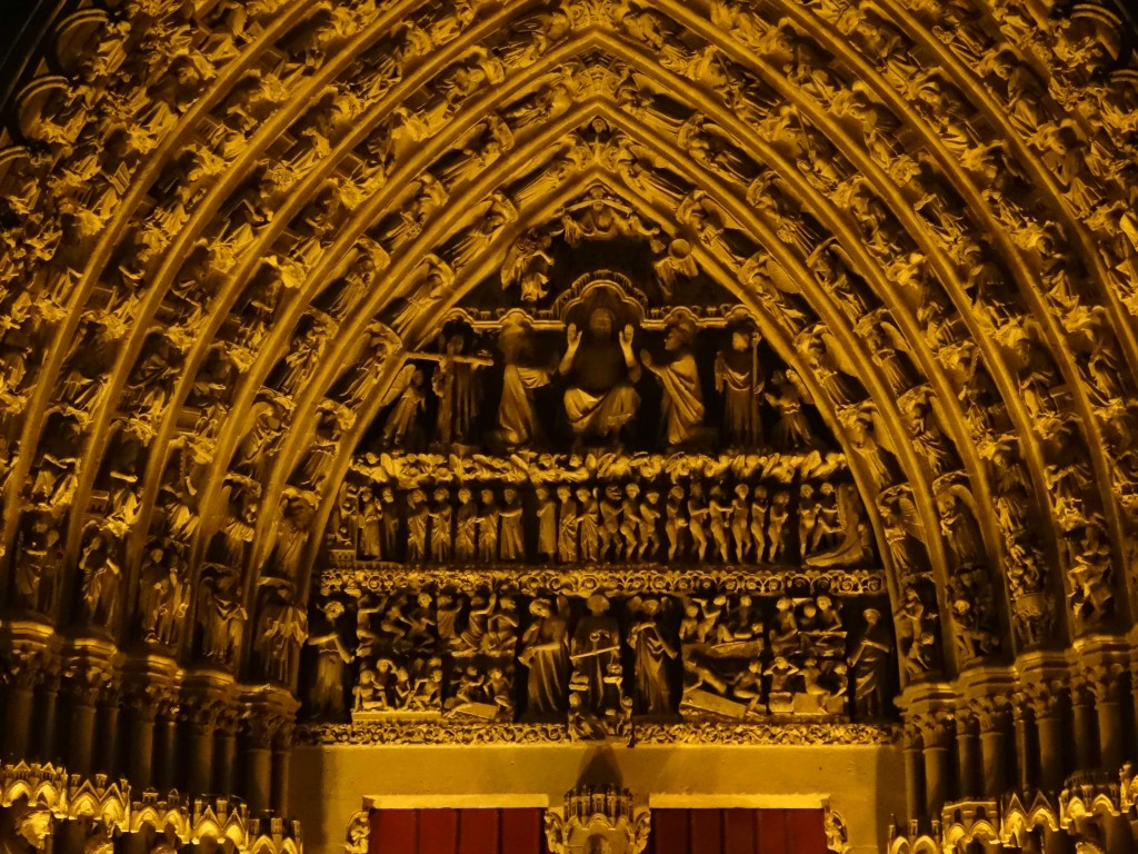 Cathedrale Amiens colorisation