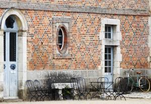 Cour du Château de la Bussière