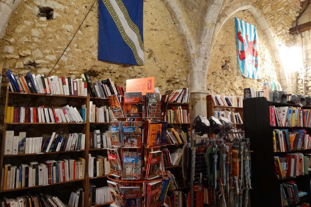 Librairie médiévale à Provins