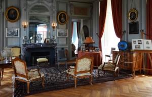 Salon du château de la Bussière