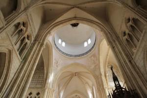 Voûtes de l'église Saint-Quiriace à Provins