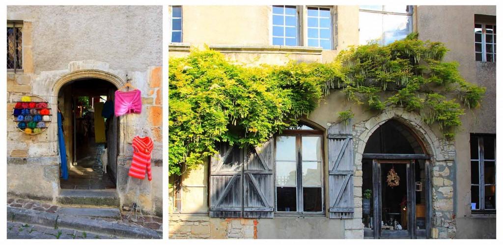 Boutiques à Vézelay