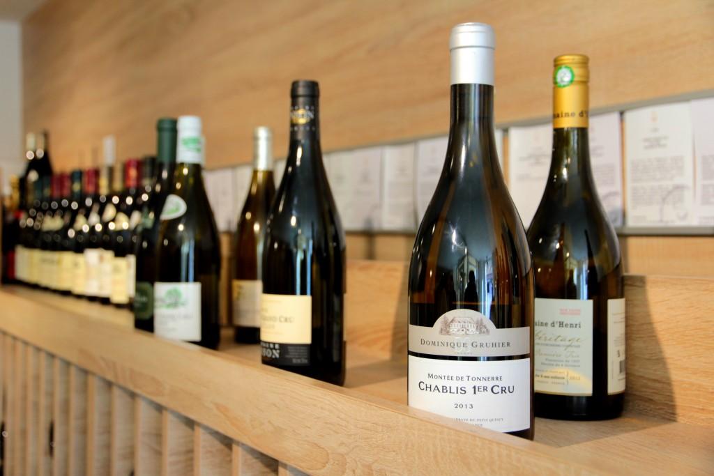 Dégustation de vins de Chablis