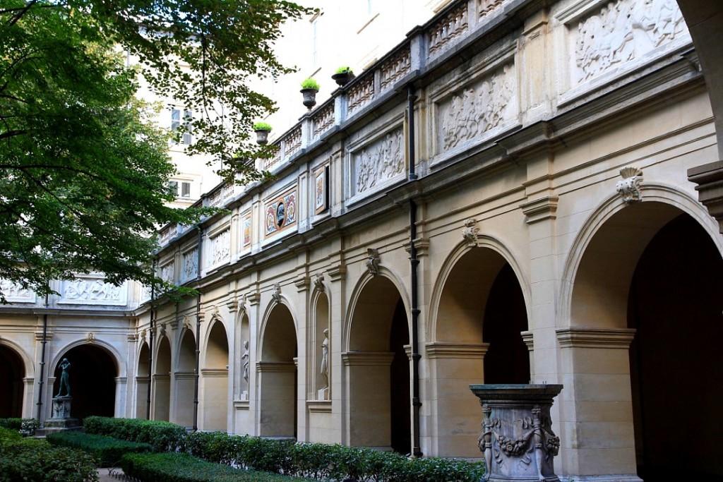 Cour intérieure beaux arts