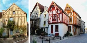 Maison à colombages Noyers-sur-Serein