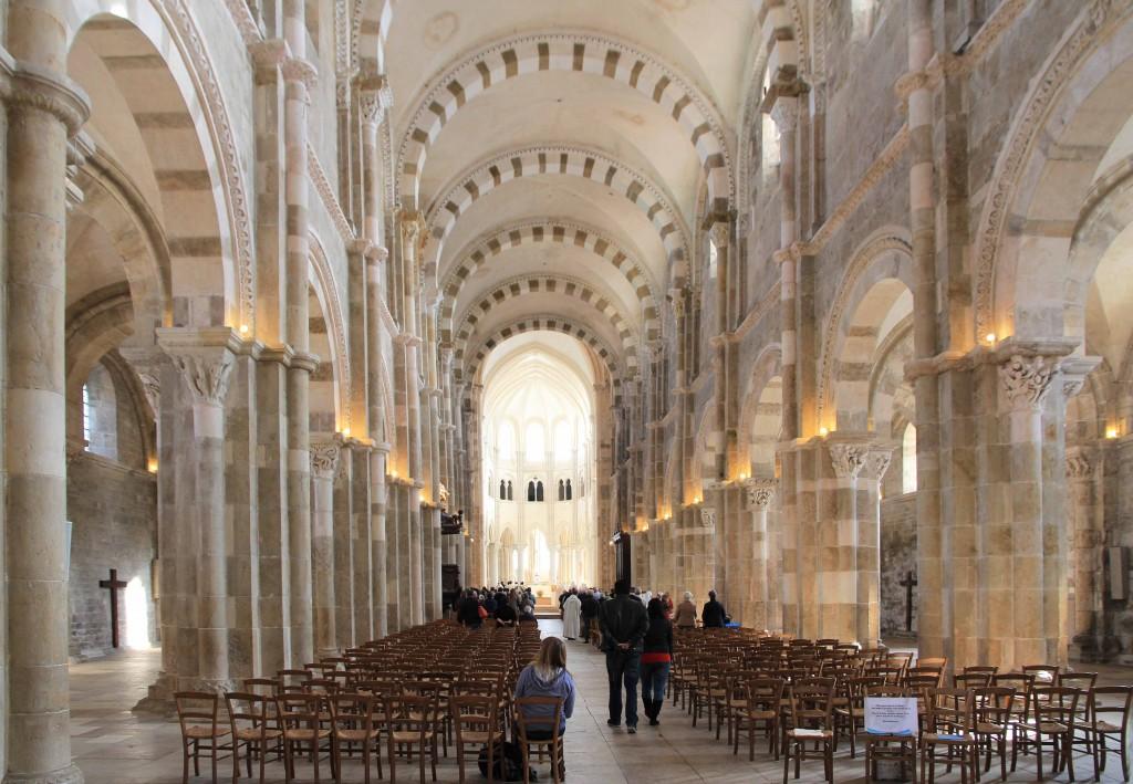 Nef de la Basilique de Vézelay