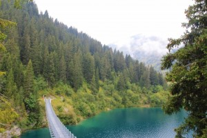 Passerelle du Lac Saint-Guérin