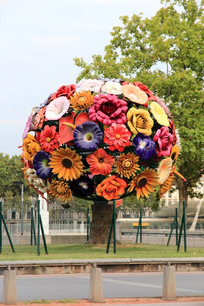 Bouquet de roses, Lyon