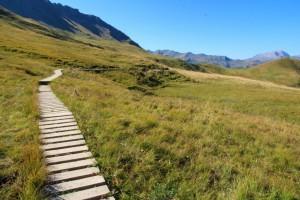 Chemin sur le Tour du Beaufortain