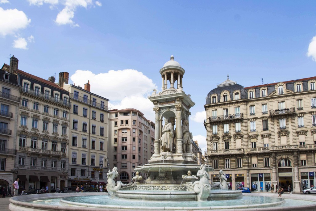 Place des Jacobins à Lyon