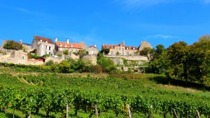 Vue sur Vézelay