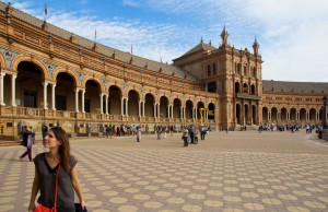 Plaza de Espana à Séville