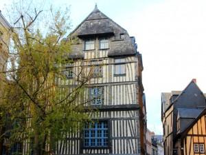 Maison à colombages Rouen