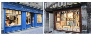 Artisans rue Saint-Romain à Rouen